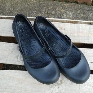 Crocs mary janes